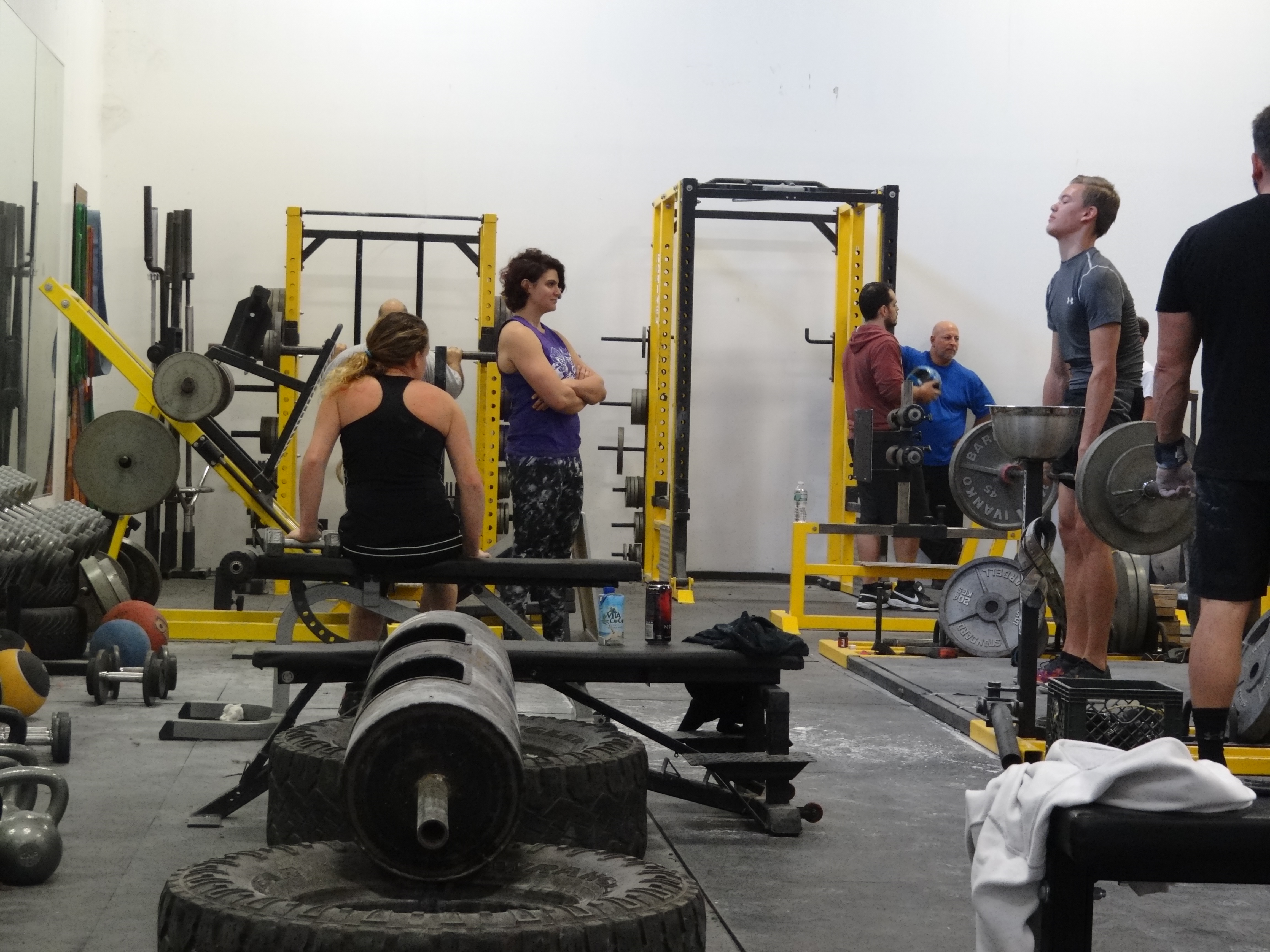 Granite Barbell Orange County NY gym Strongman-Strongwoman Saturday November 19, 2016