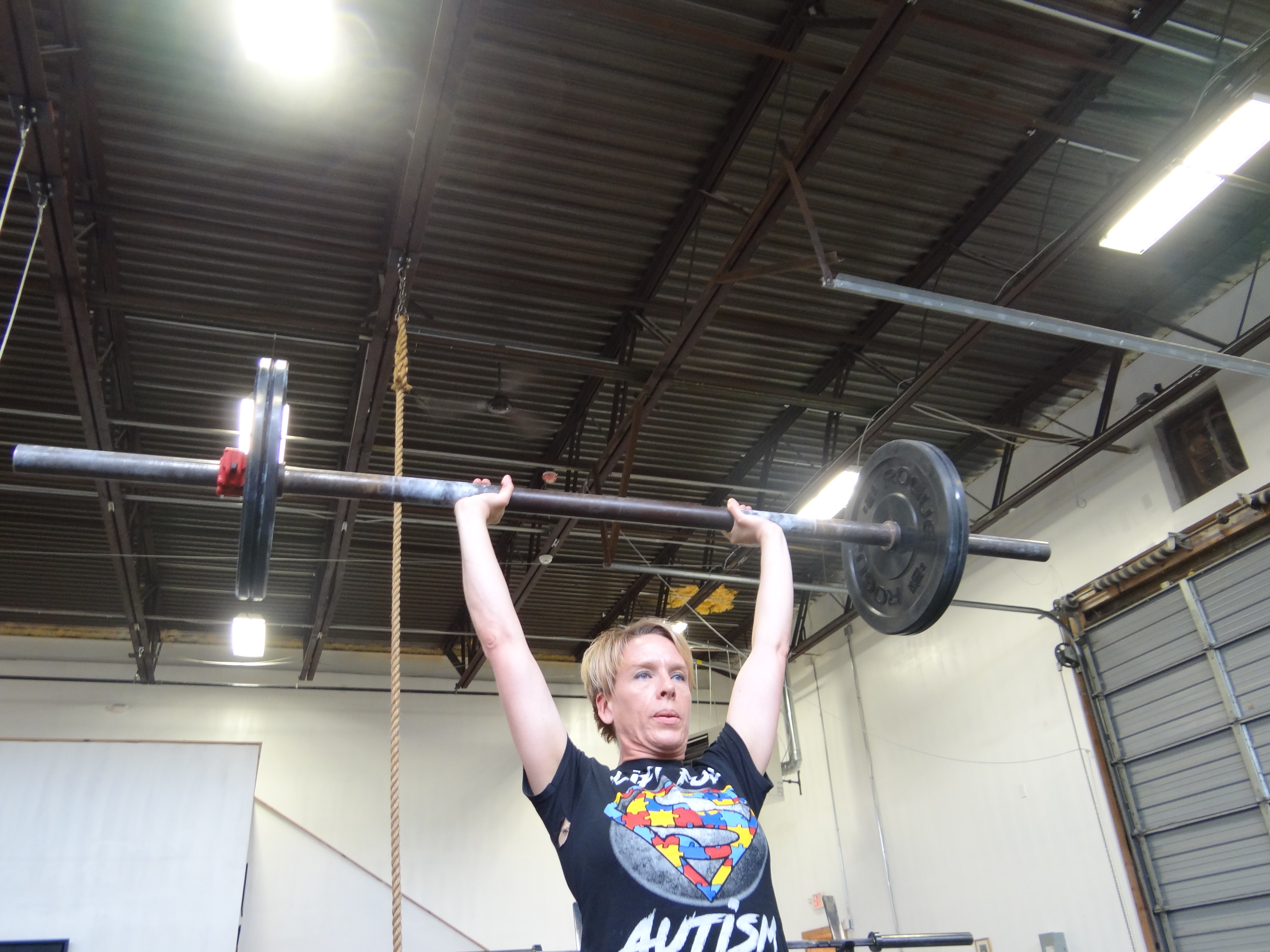 Granite Barbell Team work out