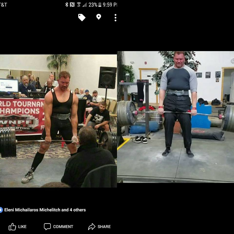 Granite Barbell Team: Transformation Tuesday: After 11 months he has gone from 245 to 290. Congrats on his progress!