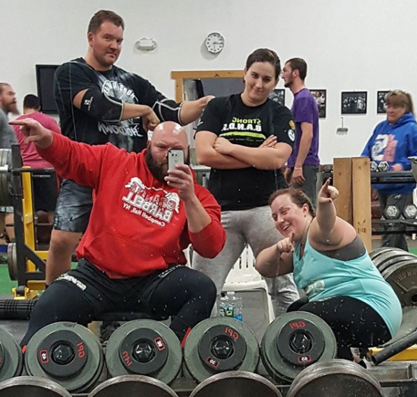 Granite Barbell gym strength training Strongman Strongwoman Orange County NY Granite Barbell Team at Strongest Man and Woman in NY Jan 16 2016
